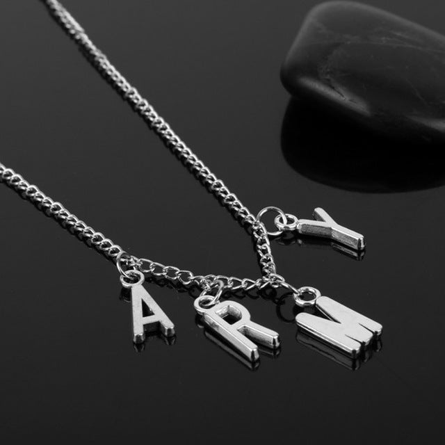 ARMY Necklace Women Men Jewelry