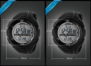 LED Digital Military 50M Dive Wristwatches