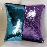 Reversible Glitter Mermaid DIY Sequins Cushion Cover