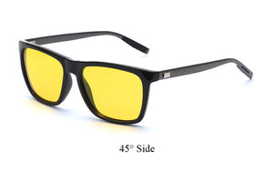 Polarized Square designer Polaroid Retro UV400 Mirror Eyewear