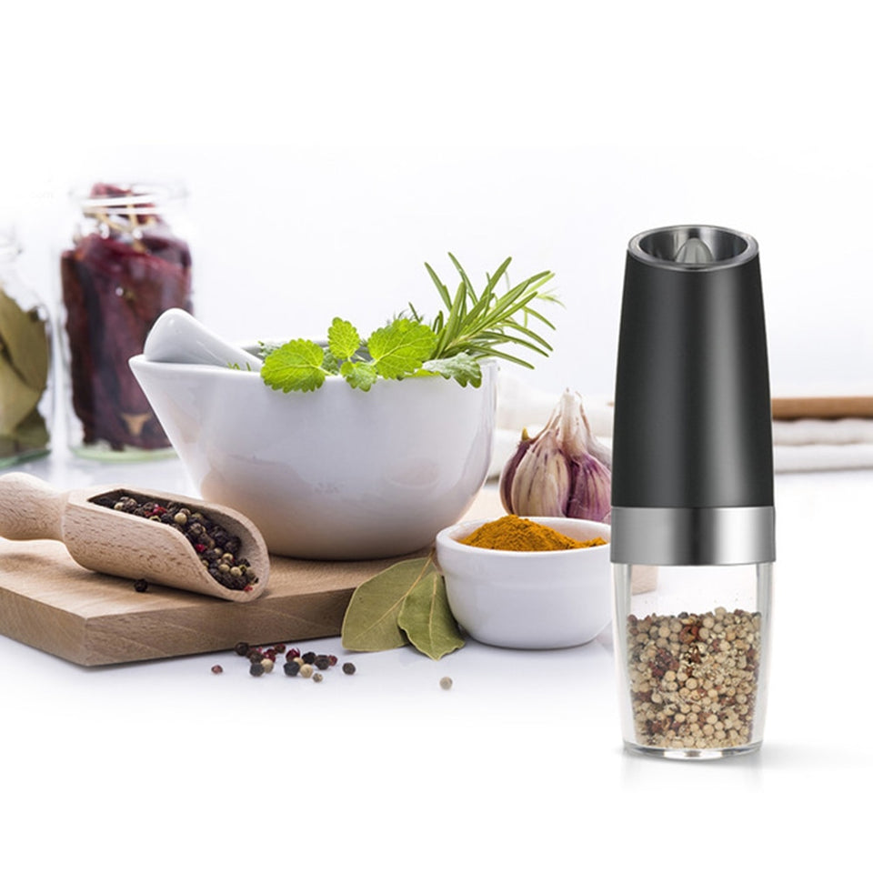 Kitchen Seasoning Grinding Mill with  LED Lights