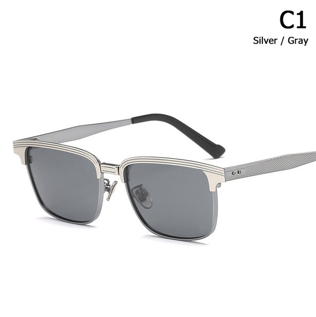 ARISTOCRAT Traveller Style POLARIZED Metal Sunglasses