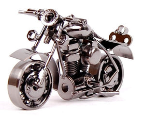 Retro Model Prop Vintage Iron Motorbike Home Decor