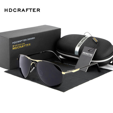 High Quality Polarized men's Sun Glasses UV400