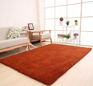 Nordic Solid Pile Carpet Rug for Living Room