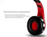 Stereo Foldable Bluetooth Wireless Microphone Headset Handfree MP3 player