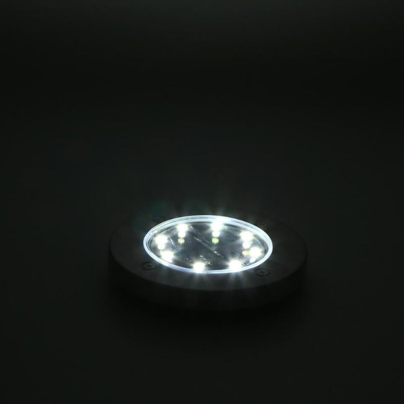4pcs/set 8LED Solar Buried Ground Light For Garden Pathway Decking Night Lamp