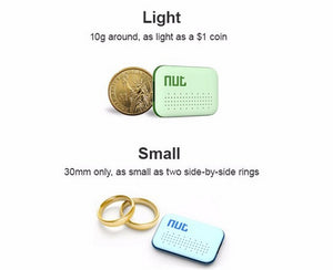 Nut Smart Wireless Bluetooth Finder With GPS Locator