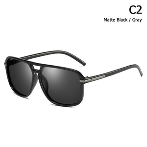 Classic Square Aviation Style Polarized Sunglass