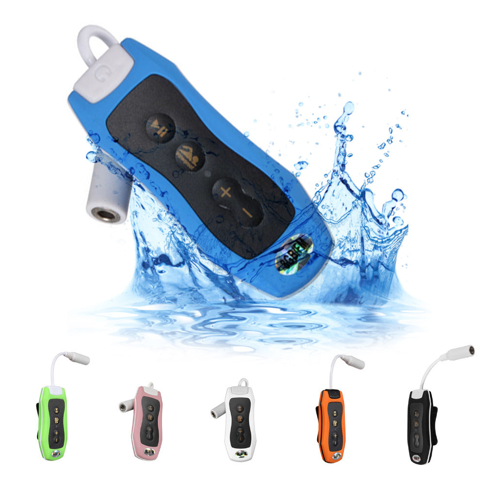 Waterproof MP3 Player For Swimming | Underwater | Diving | Spa + FM Radio