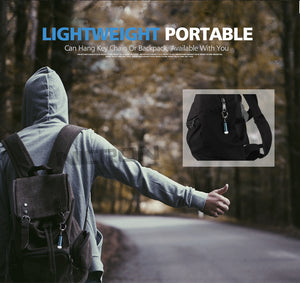 Micro Led Pocket Keychain Waterproof Flashlight  0.25W