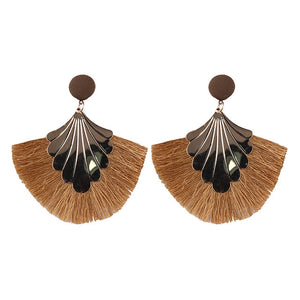 Big Fring Bohemian Hanging Drop Earings