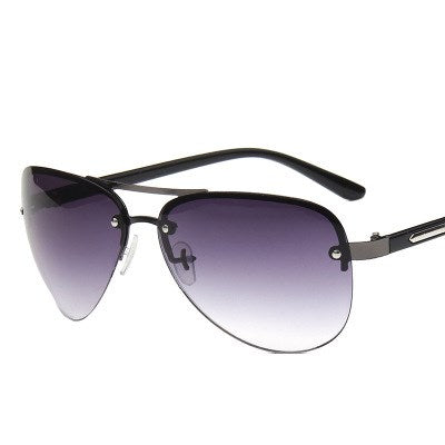 Brand Designer Pilot Rimless Male SunGlasses