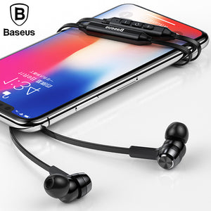 Baseus S06 Bluetooth Wireless headphone For Xiaomi iPhone with MIC