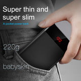 10000mAh Power Bank with Dual USB LCD Display