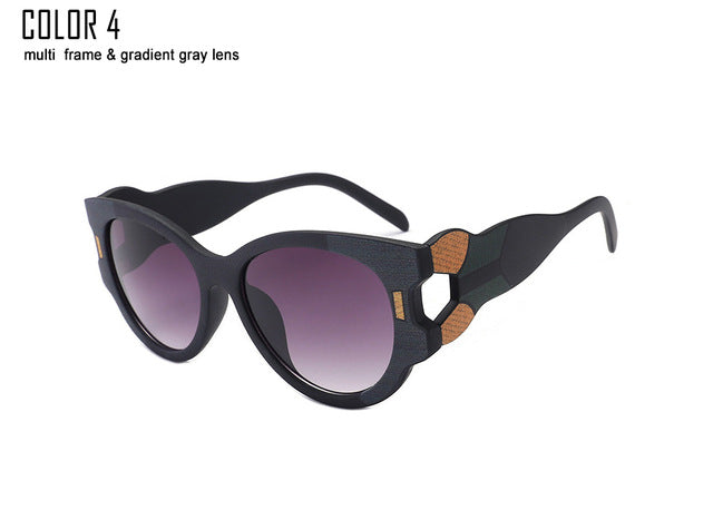 Multi-color Frame Sunglasses Women Brand UV400
