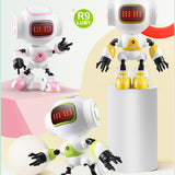 Intelligent Touch Control DIY Gesture Talk Smart Mini Robot