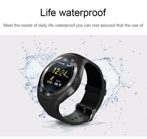 Android SmartWatch Phone Call GSM Sim Remote Camera Information Display Sports Pedometer