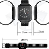 Bluetooth Pedometer Heart Rate Monitor Color Display Waterproof Smart Watch
