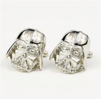 Star Wars Darth Vader Black Enamel Shirt Cufflinks For Mens