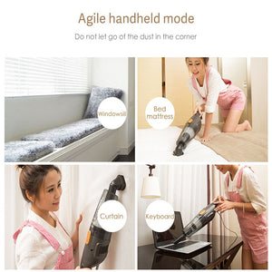 Portable Handheld Silent Vacuum Cleaner With Strong Suction | Dust Collector