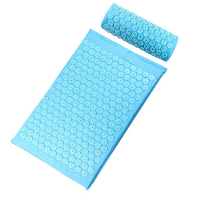 Acupressure Massager Yoga Mat with Pillow