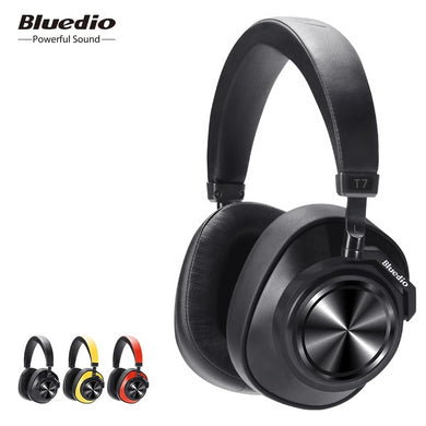 Bluetooth Wireless Headset With User-defined Active Noise Cancelling