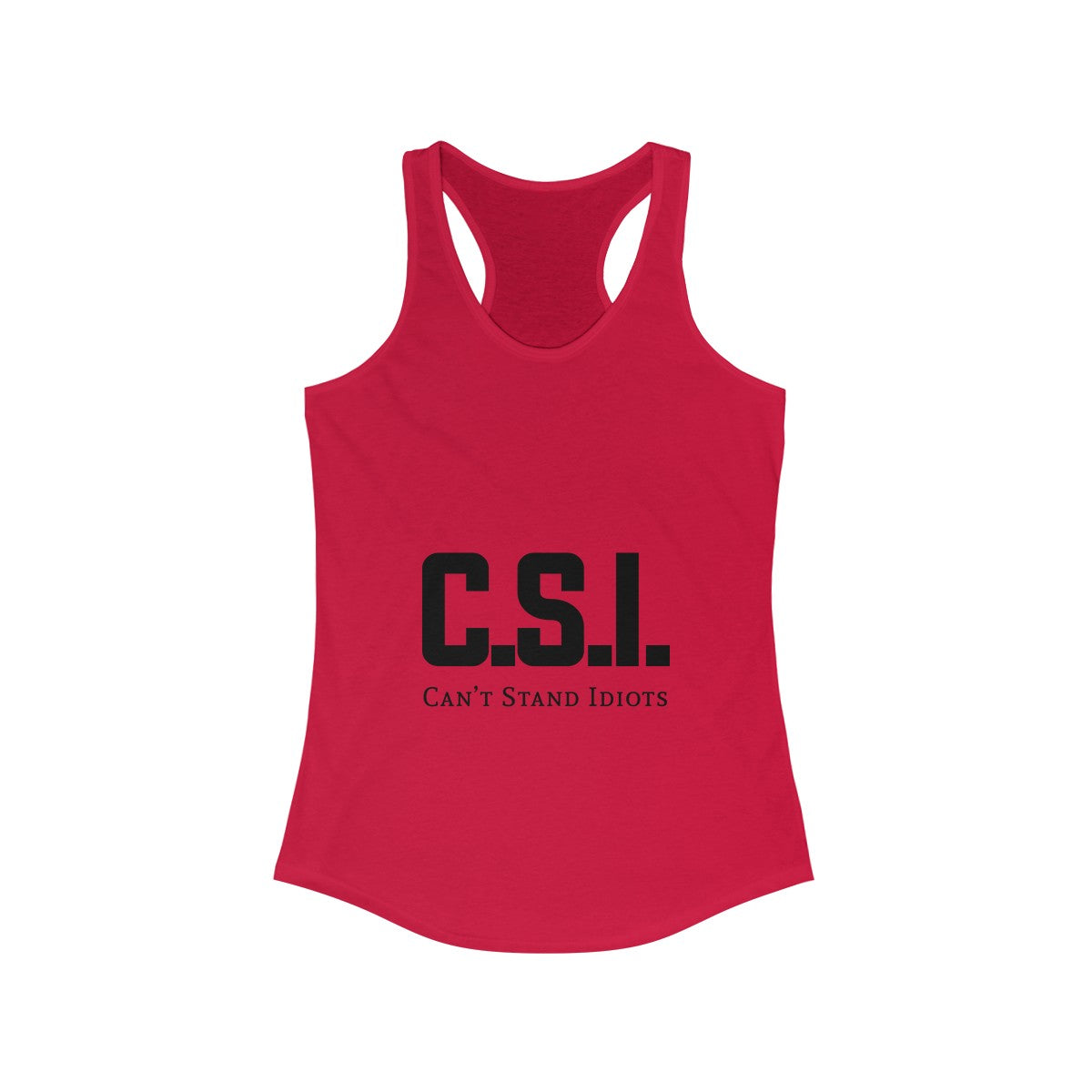 CSI Women's Ideal Racerback Tank