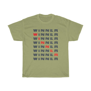 Winner Unisex Heavy Cotton Tee