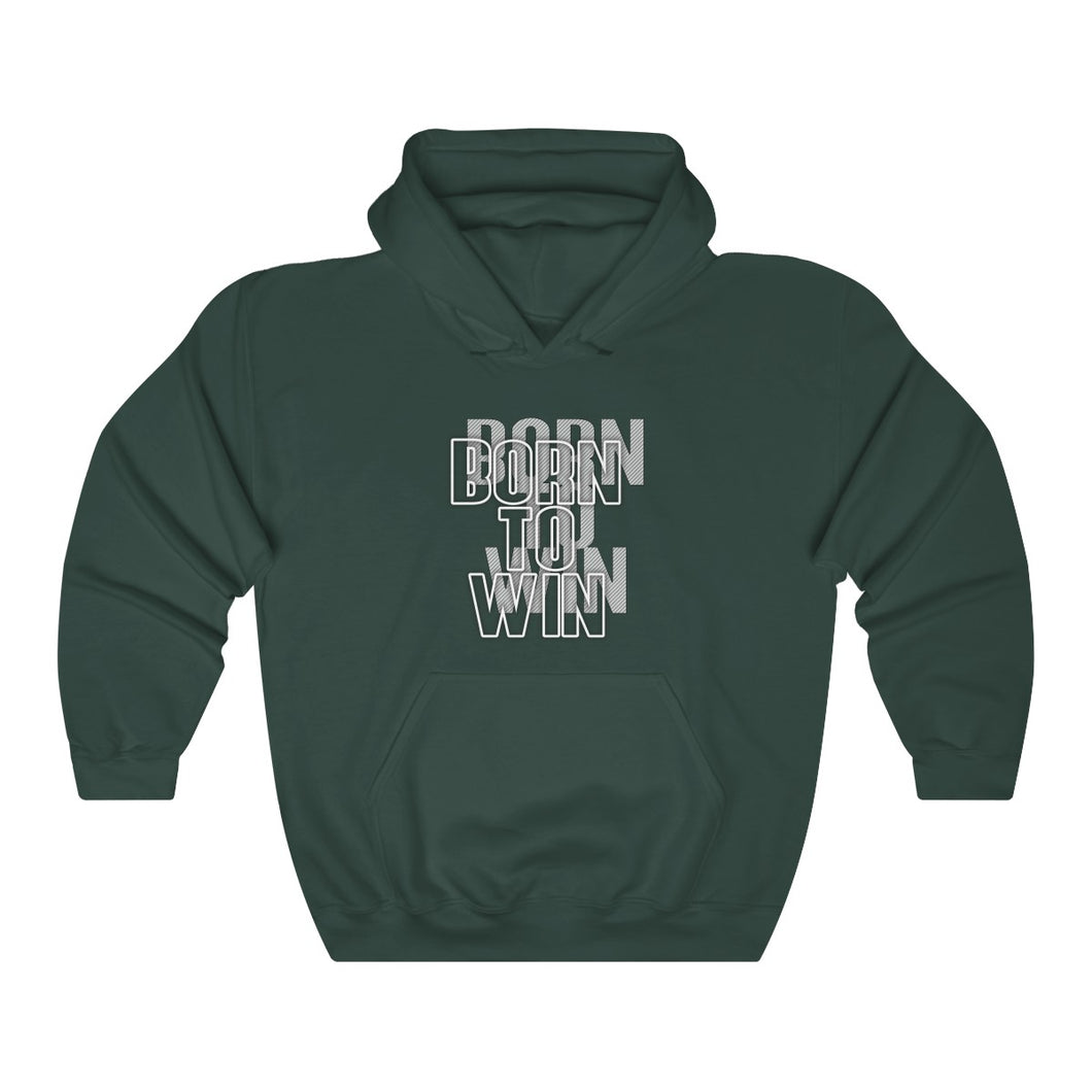 Born to win Unisex Heavy Blend™ Hooded Sweatshirt