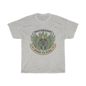 Born to ride Unisex Heavy Cotton Tee