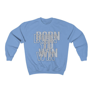 Born to win Unisex Heavy Blend™ Crewneck Sweatshirt
