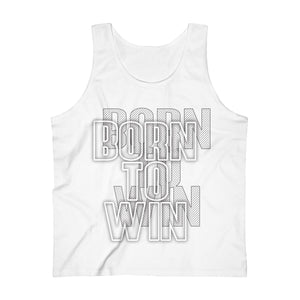 Born to win Men's Ultra Cotton Tank Top