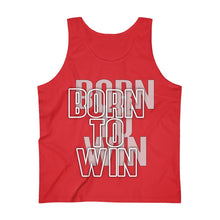 Load image into Gallery viewer, Born to win Men's Ultra Cotton Tank Top