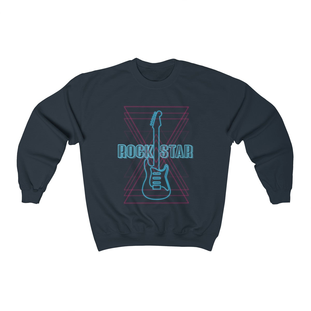 Rockstar Men Heavy Blend™ Crewneck Sweatshirt
