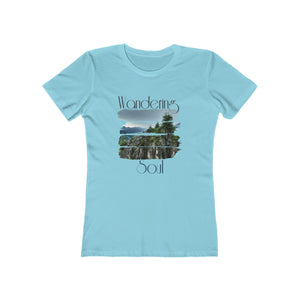 Wandering soul Women's The Boyfriend Tee