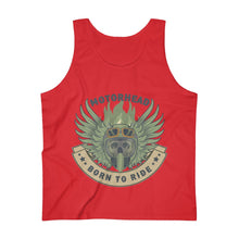 Load image into Gallery viewer, Born to ride Men's Ultra Cotton Tank Top