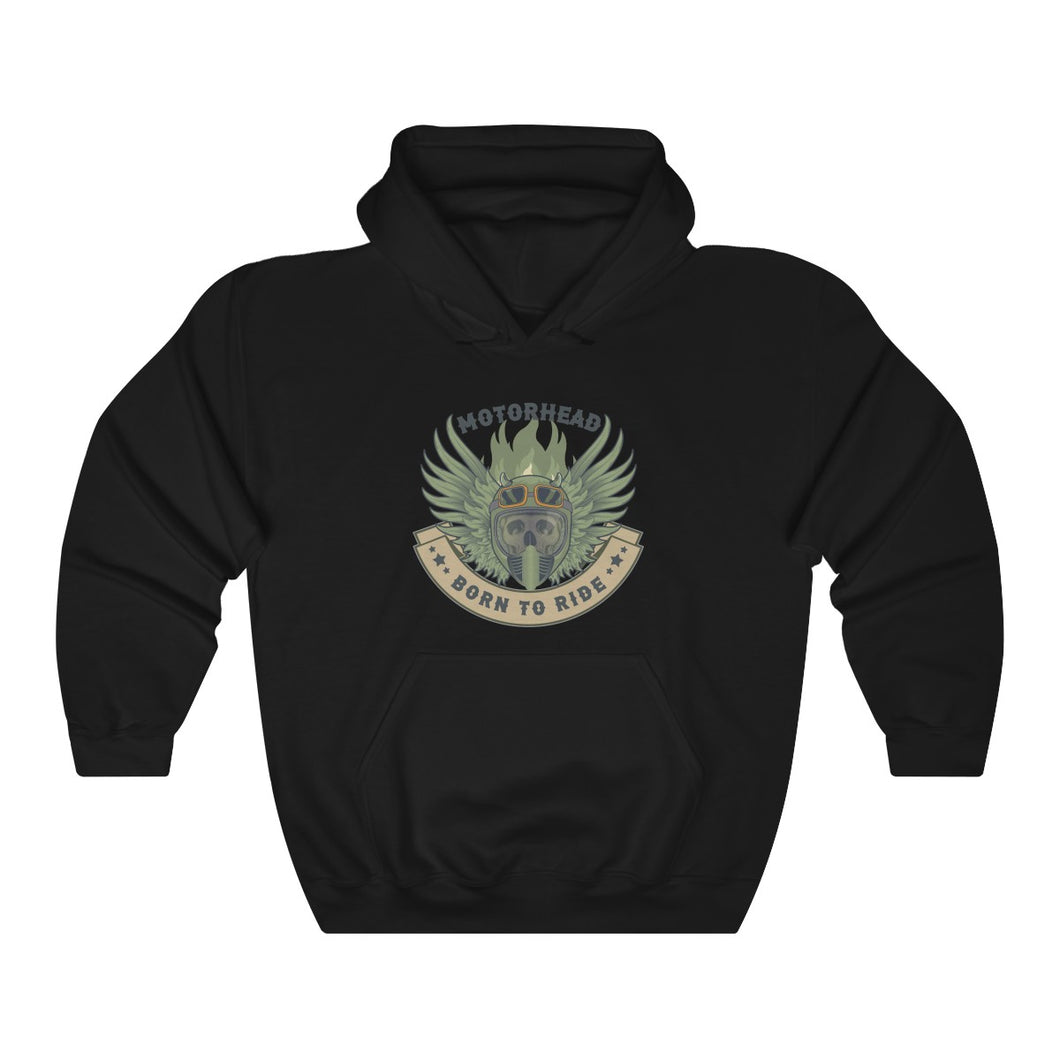 Born to ride Unisex Heavy Blend™ Hooded Sweatshirt