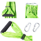 Fitness Yoga Hammock Yoga Swing Anti-gravity Aerial Straps High Strength Fabric Decompression With 6 Grip Hand Warehouse