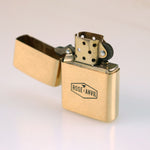 Zippo Solid Brass Pocket Lighter