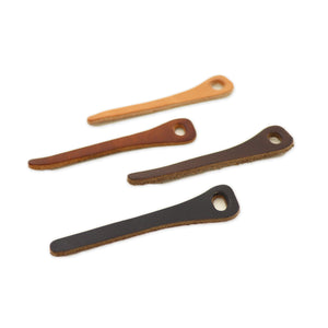 Leather Pull Tabs - 2pk