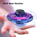 Mini hand drone USB rechargeable RGB lights interactive toy