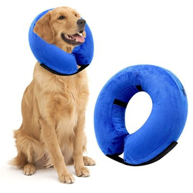PVC inflatable pet collar / inflatable liner