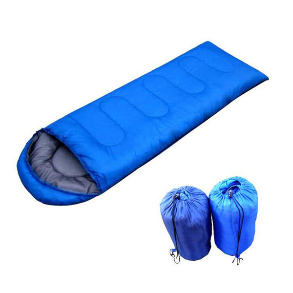 Autumn and winter sleeping bag outdoor Camping Adult Envelope Type Cotton Splicing Single