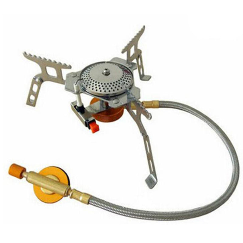 Outdoor Camping Gas Stove Foldable Split Burner