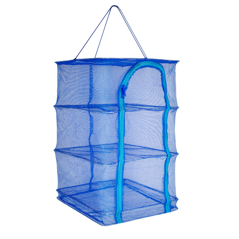 15.7x 15.7 x 25.6Inch 4 Layers Drying Rack Folding Fish Mesh