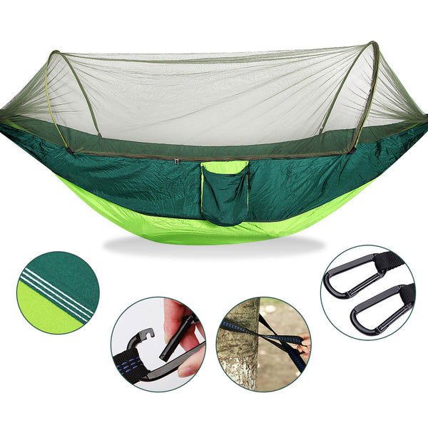 Portable Camping Double Hammock with Anti Mosquito Nets