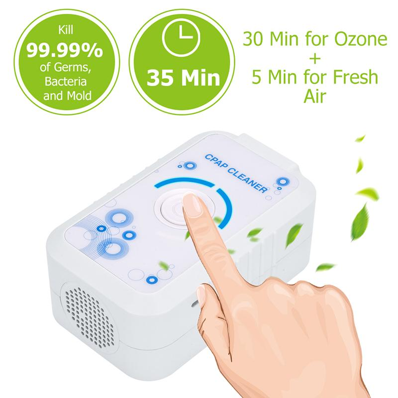 Portable Mini CPAP Cleaner CPAP Mask Tubing Cleaning System