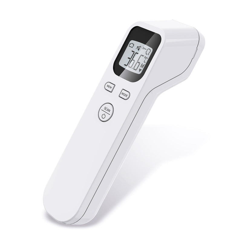 LCD Digital Temperature Gun Non-contact Infrared Forehead Thermometer
