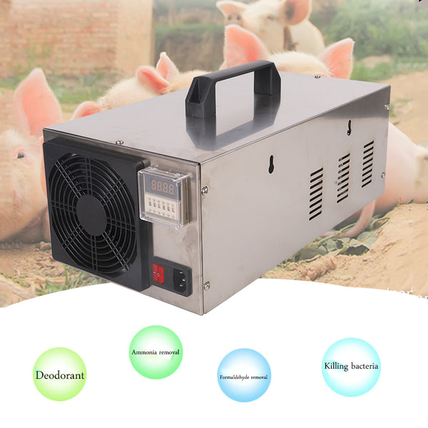 110V 10g Portable Ozone Generator Air Purifier With Time Cycle Mode